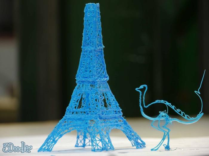 3Doodler: unglaublicher 3D-Drucker in Stift-Format