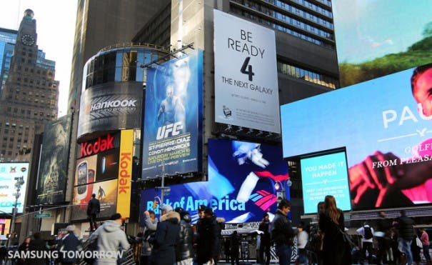Be ready 4 the next galaxy Times Square 02
