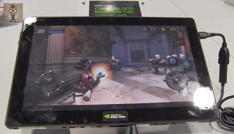 MWC: Carie: Blood Mansion THQ – Nvidia Tegra 4 Gaming Demonstration