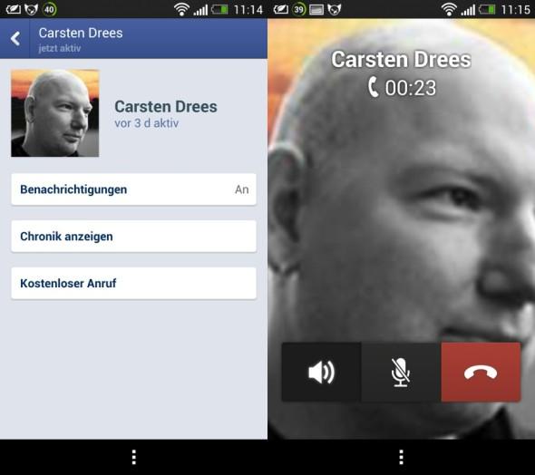 Facebook: Ab sofort kostenlos über den Messenger telefonieren