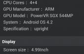 Galaxy S4 Benchmark 3 170x110 Samsung Galaxy S4   Erster Benchmark des Exynos 5 Octa *Update*