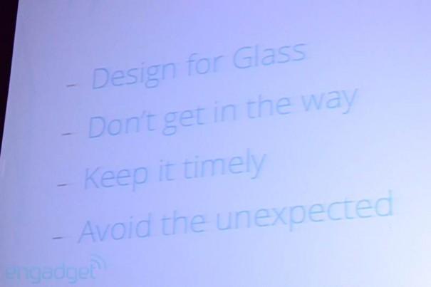 Google Glass 1 605x403 Erste Google Glass Apps vorgestellt   SXSW