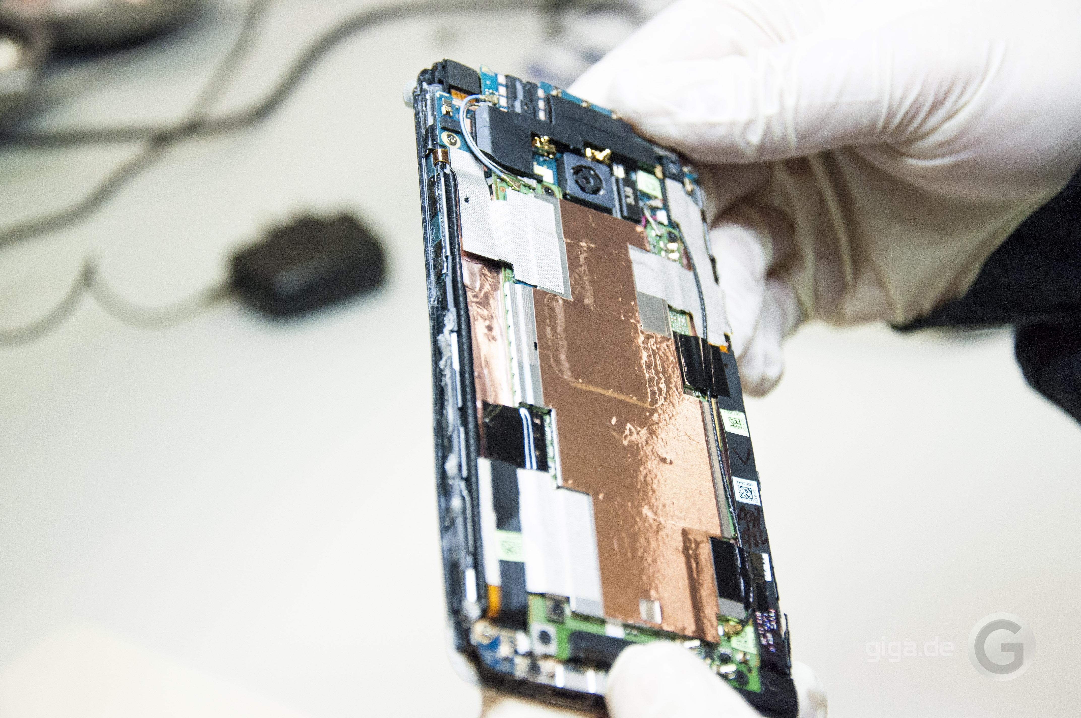 HTC One im Teardown