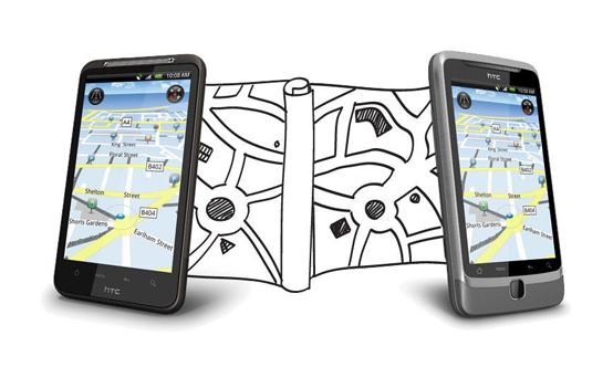 Gerücht: HTC bastelt an eigenem Kartendienst