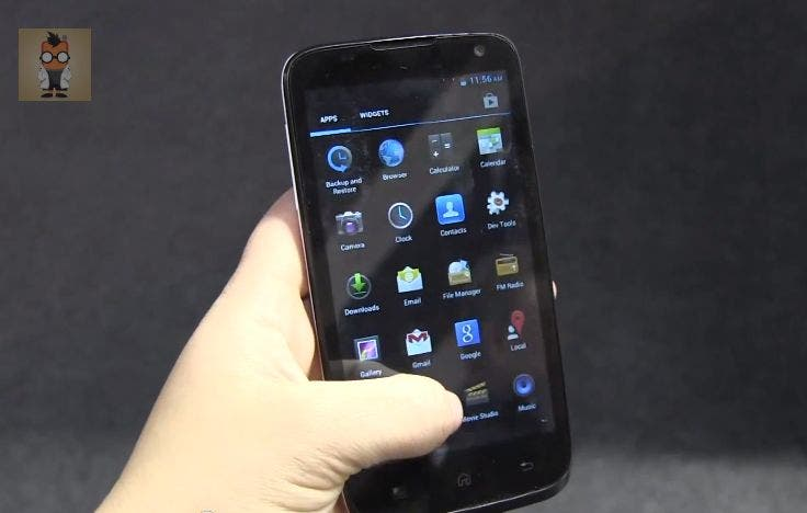 MWC: Malata i85 4.7-inch Quad Core Jelly Bean Smartphone im Hands On