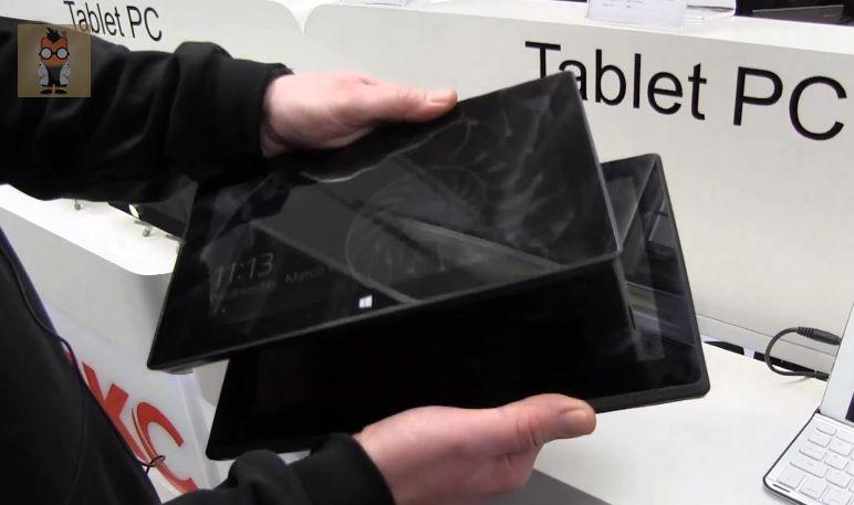 CeBIT: Microsoft Surface Pro und HKC Klon im direkten Vergleich