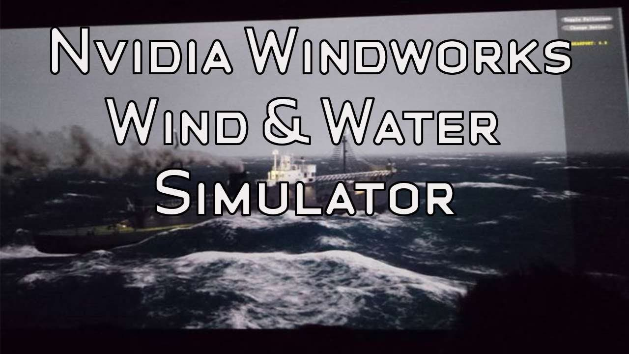 NVIDIA Waterworks Demo – Wind & Wellen in Echtzeit [Video]