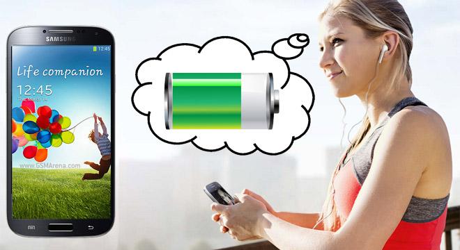 Samsung Galaxy S4: Akku kann überzeugen
