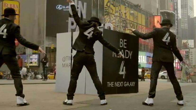 Samsung Galaxy S4 Vorboten: Viel Werbung und ein Flashmob
