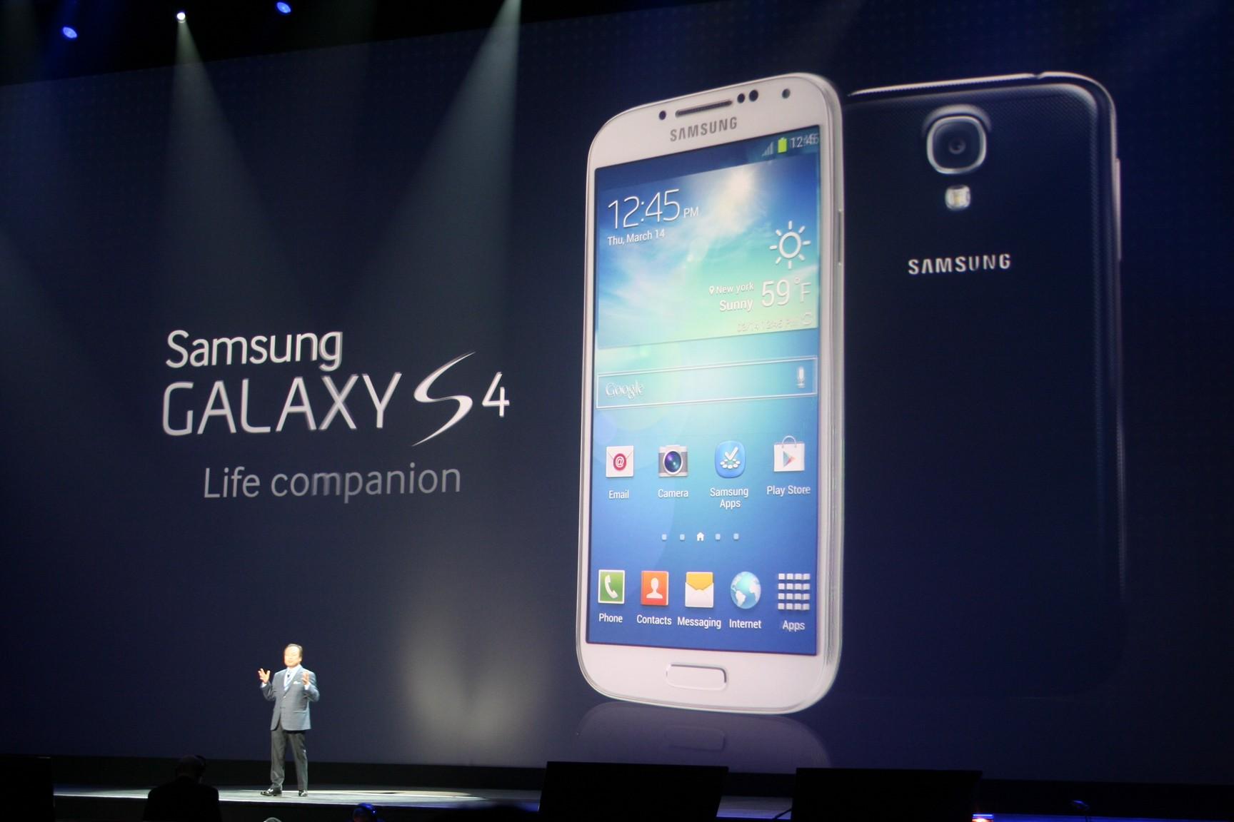 Samsung Galaxy S4 bei Amazon für 649 Euro vorbestellbar