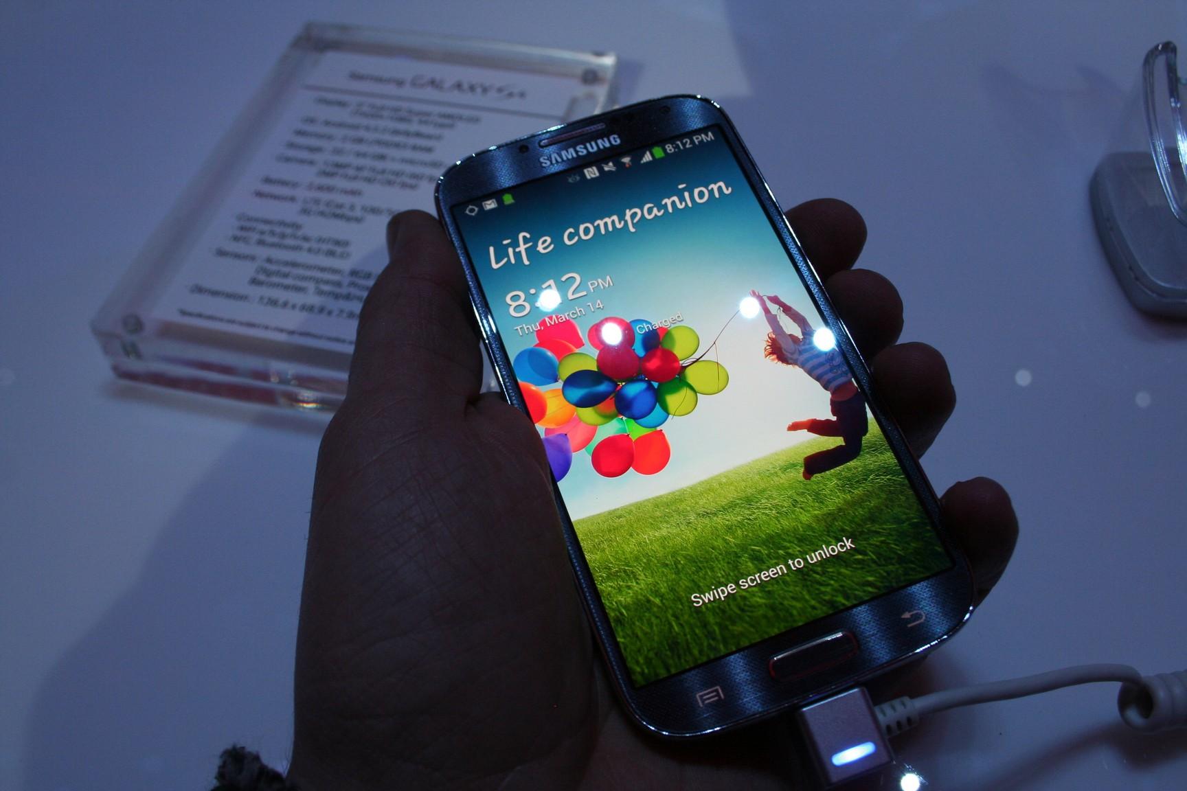 Herstellung des Samsung Galaxy S4 kostet 244 Dollar