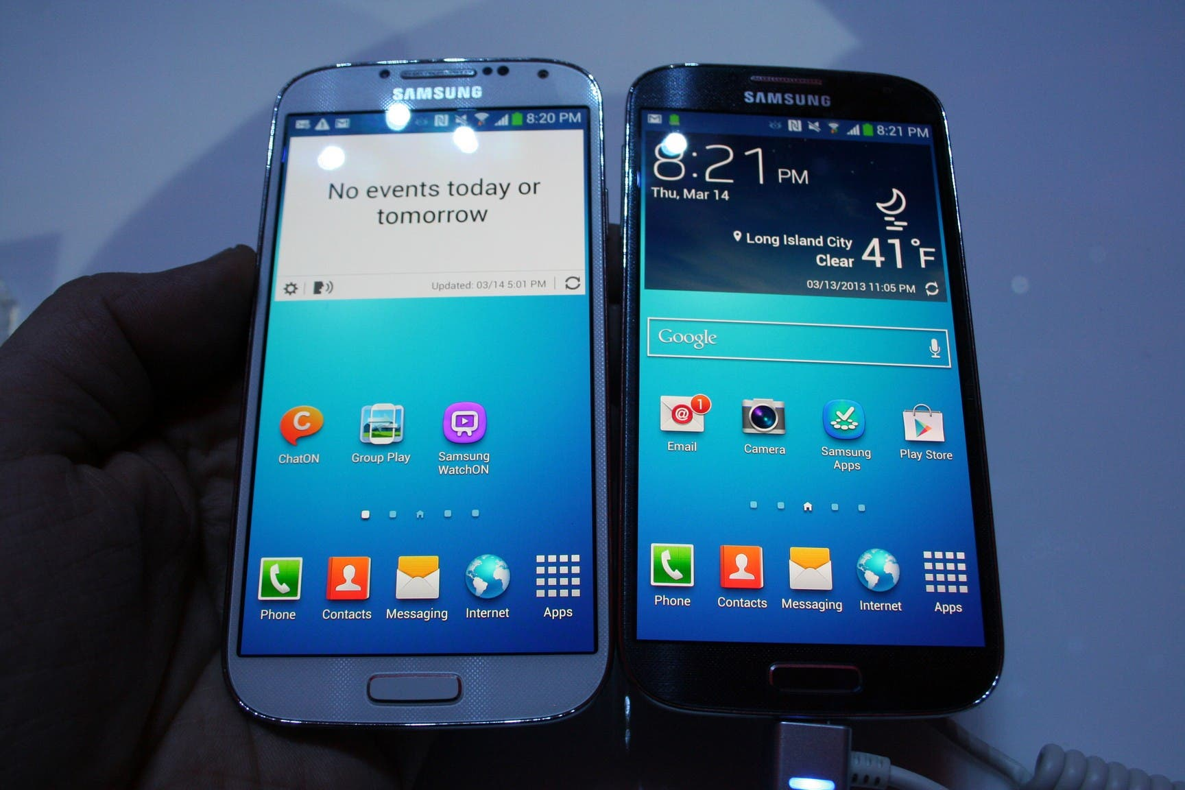 Samsung Galaxy S4 Launch 58 Samsung Galaxy S4: White Frost und Black Mist im Video Vergleich