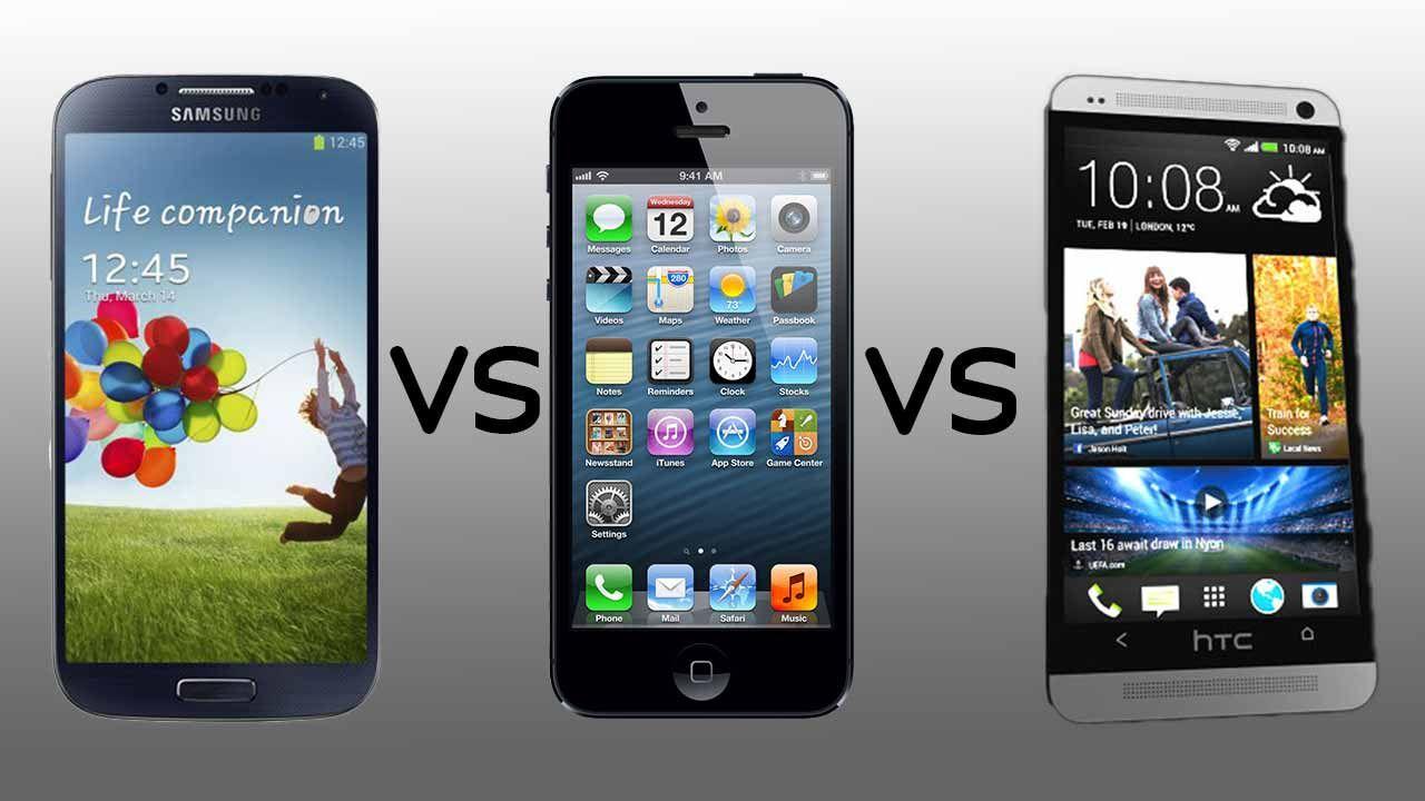 samsung galaxy s4 apple iphone 5 und htc one im vergleich. Black Bedroom Furniture Sets. Home Design Ideas
