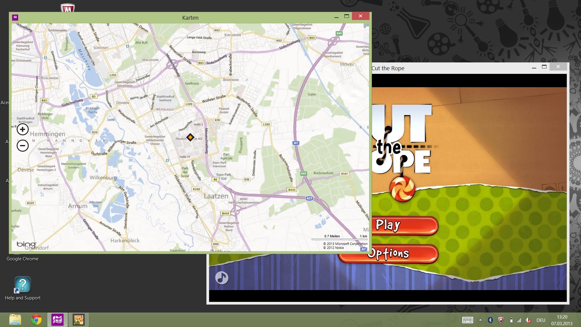 ModernMix: Anwendungen aus der Windows 8 Metro-UI im Window-Mode auf dem Desktop