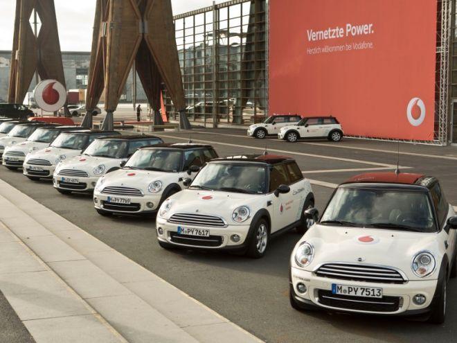 Vodafone stellt DriveNow Carsharing Konzept auf der CeBIT vor