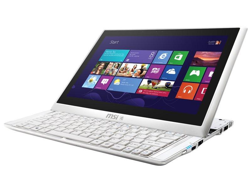 CeBIT: MSI S20 Slider Ultrabook mit 11,6-Zoll-Bildschirm im Hands-On