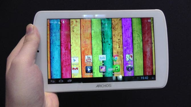 CeBIT: Archos 70 Titanium Tablet im Hands-On