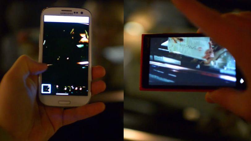 Auch Nokia ätzt gegen Samsung und vergleicht die Kameras