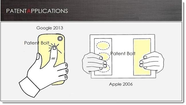 Neues Patent: Google arbeitet an Touch-Panel für Smartphone-Rückseite