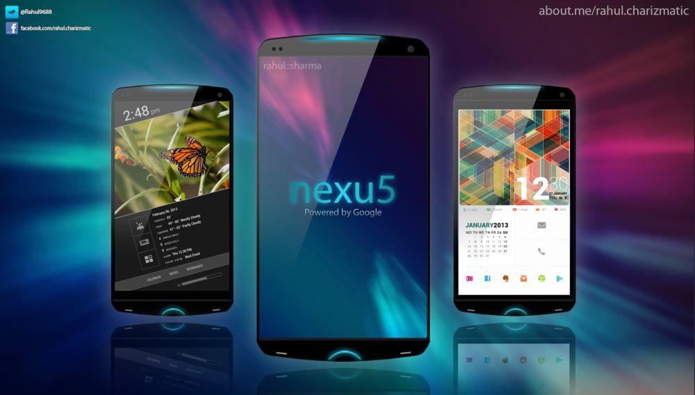 Google Nexus 5 Konzept zeigt sich