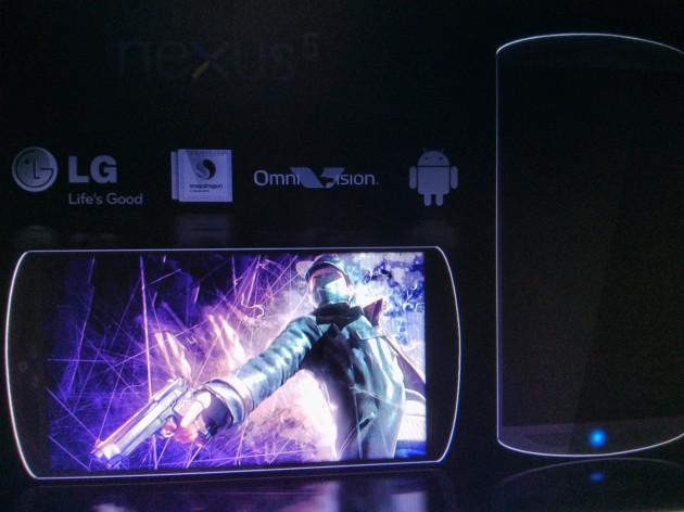Sehen wir hier das Nexus 5 von LG?