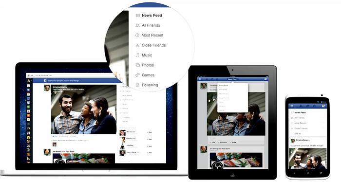 Schöner, einheitlicher, vielseitiger – Facebook stellt neuen Newsfeed vor