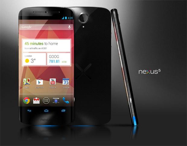 Designstudie: Nexus 5 Wunschkonzert