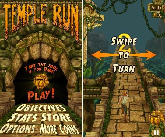 Windows Phone: Temple Run und weitere Spiele erscheinen