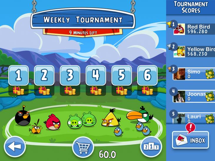 Rovio: Umsatz verdoppelt, Angry Birds Friends für Android und iOS