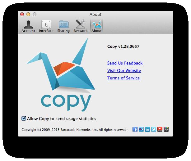 Noch ein Cloud-Speicher: Copy