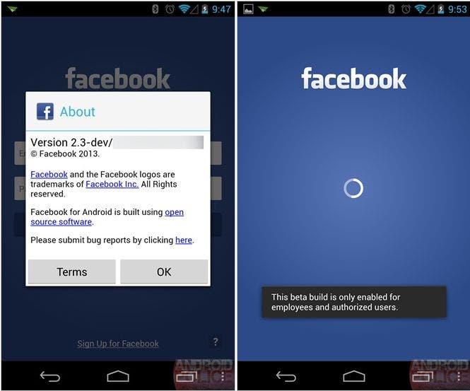 Facebook Home: Leak deutet auf Android Launcher hin *Update: Bilder*