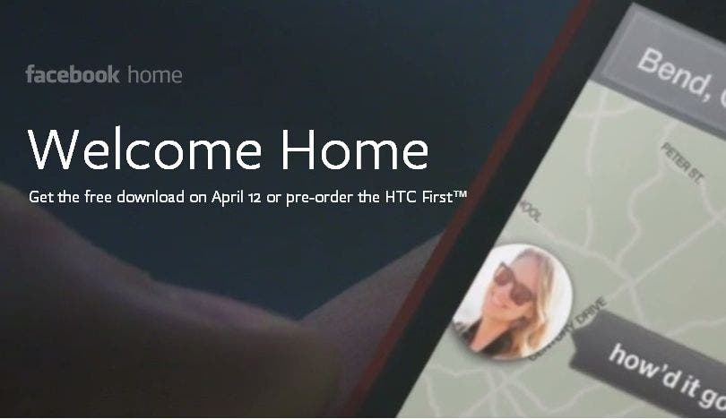 Facebook Home: Offizielles Statement und Video