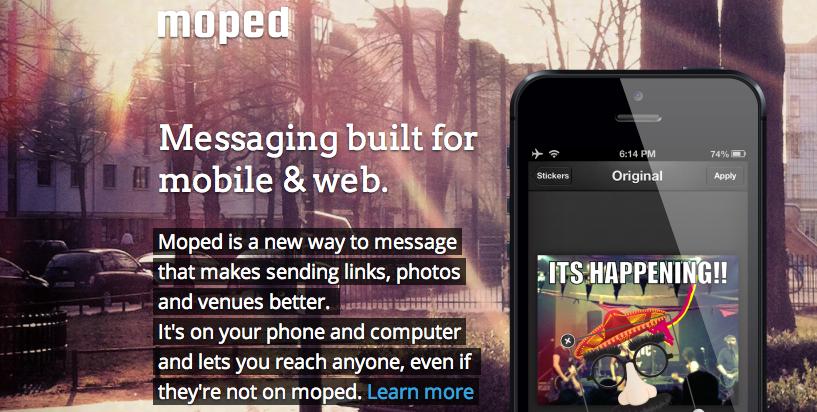 Moped: Neue Version des Messengers integriert Dropbox und Foursquare