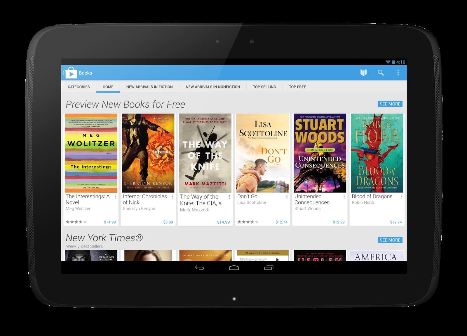 Google Play Store in neuem Design verfügbar *Update: Download verfügbar*