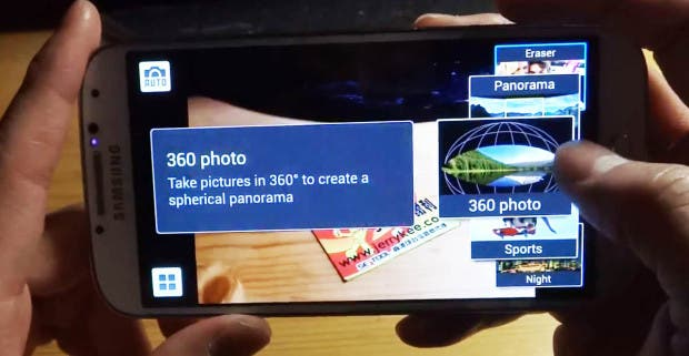 Samsung Galaxy S4 360 Photo: 3D Panorama-Fotos wie Photo Sphere