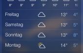 Yahoo Wetter iPhone 02 170x110 Noch mehr Wetter: Yahoo Wetter App für iPhone