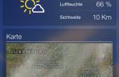 Yahoo Wetter iPhone 03 170x110 Noch mehr Wetter: Yahoo Wetter App für iPhone