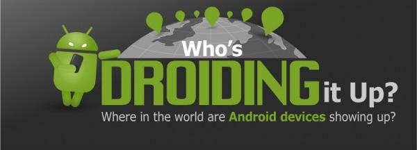 Infografik: Wo sind welche Android-Smartphones besonders beliebt? Galaxy S3 weltweit führend