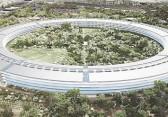 Der Baufortschritt des neuen Apple Campus 2 im Dezember 2015