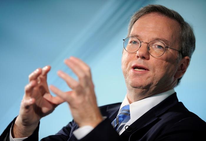 Eric Schmidt: Bis 2020 ist die gesamte Welt online