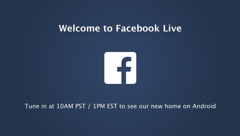 Facebook-Event zu Android um 19 Uhr im Livestream