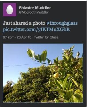 glasstweet Offizielle Twitter App fuer Google Glass kommt