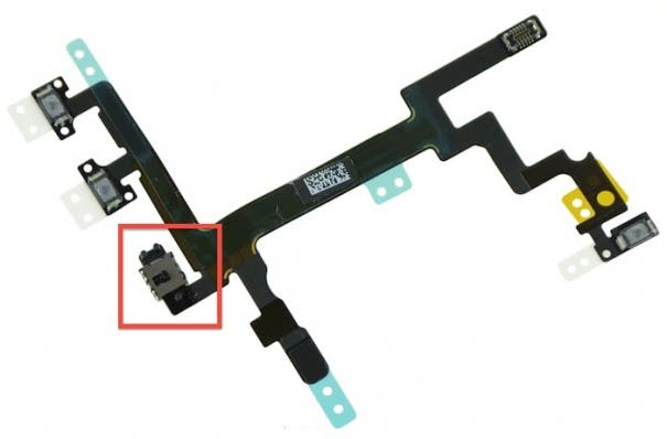 iphone 5 audio control cable 605x398 Apple iPhone 5S oder Billig iPhone? Leak zeigt weitere Bauteile