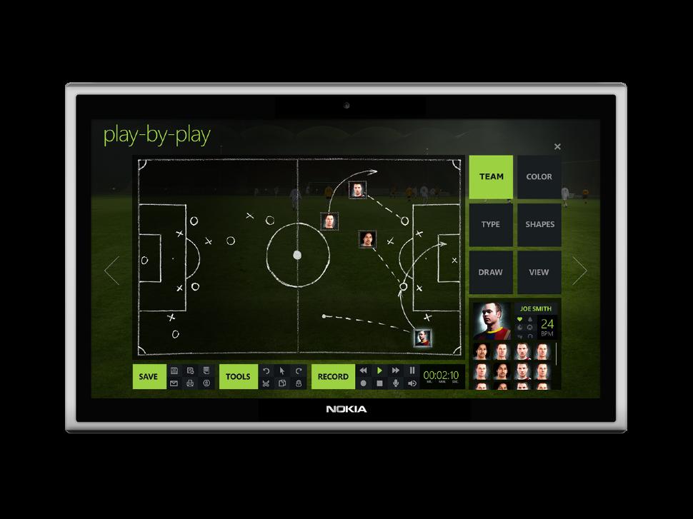 Bilder zeigen neue Adidas App – auf einem Nokia Tablet