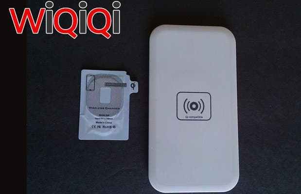 WiQiQi Wireless Charger Kit: Galaxy S3 und S4 drahtlos laden