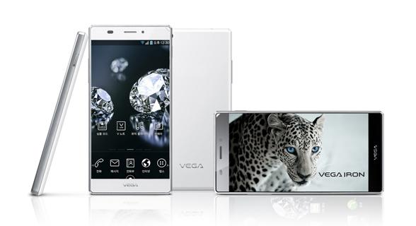 Pantech Vega Iron 5inch Full HD-Smartphone mit Snapdragon 600 soll Galaxy S4 das Leben schwer machen