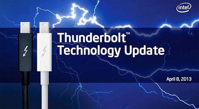 Intel verdoppelt Geschwindigkeit von Thunderbolt-Ports – 1,2 Gigabyte pro Sekunde kein Problem