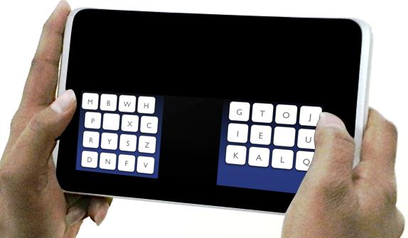 KALQ-Tastatur: schneller schreiben auf dem Tablet dank neuem Layout