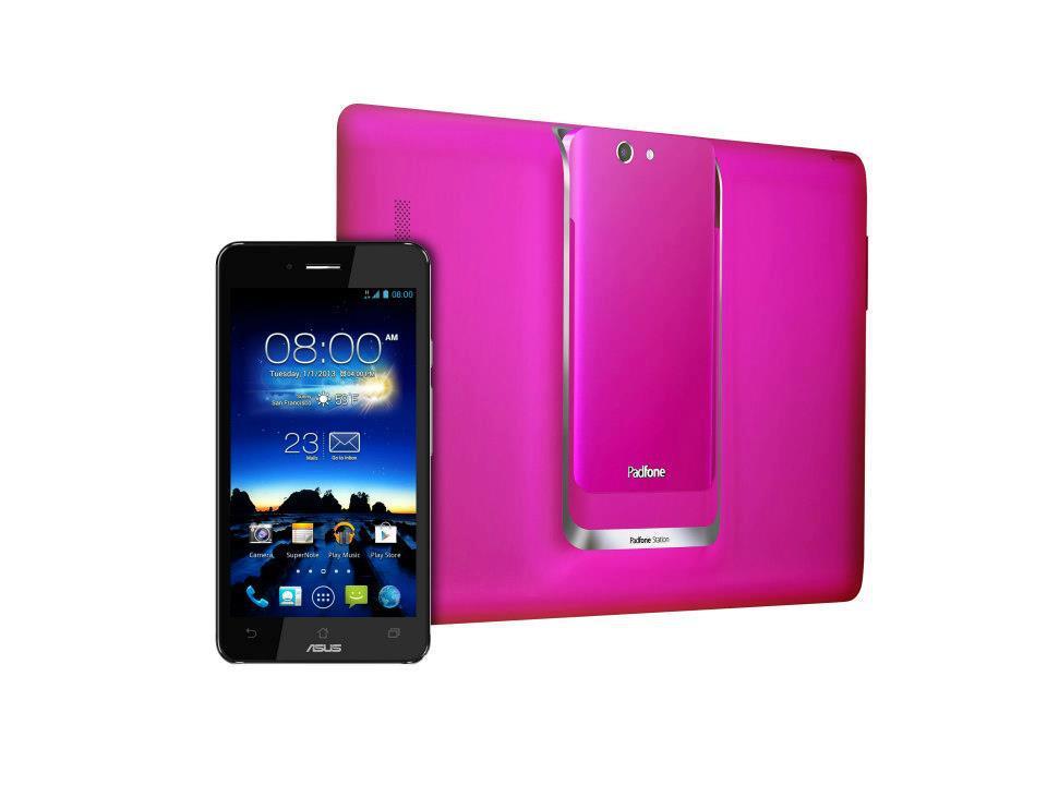 Ein Geschenk für Mutti? ASUS Padfone Infinity in hot pink
