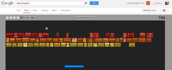 Happy Birthday, Breakout: Tolles Easter Egg von Google